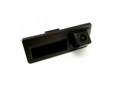 Автомобильная камера в ручку открытия багажника с парковочными линиями (неотключ