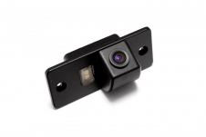 Автомобильная видеокамера заднего вида в штатное место для Porsche Cayenne I (Fa