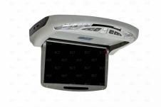 """Автомобильный моторизованный потолочный монитор 10,2"""" (26 см) серого цвета"""