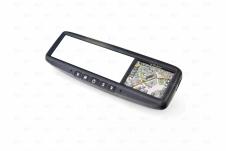 Автомобильное зеркало со встроенной навигацией универсальное