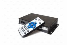 Универсальный автомобильный 4х канальный цифровой видеорегистратор с функцией за