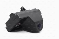 Автомобильная камера заднего вида вместо штатной подсветки с парковочными линиям
