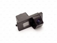Автомобильная камера заднего видав штатное место подсветки номерного знака для S