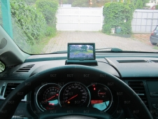 """Парковочный комплект для Nissan Tiida Hatchback с автомобильным монитором 4,3"""" и"""