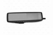 """Автомобильное зеркало заднего вида для 4-х камер с монитором 4,3"""" и штатным креп"""