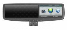 Зеркало заднего вида с двухканальным видеорегистратором со встроенным монитором