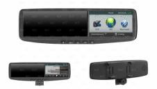 Универсальное зеркало заднего вида с двухканальным видеорегистратором со встроен